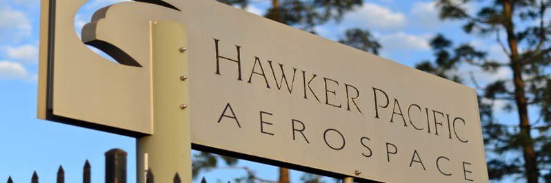 Sign Hawker Pacific Aerospace